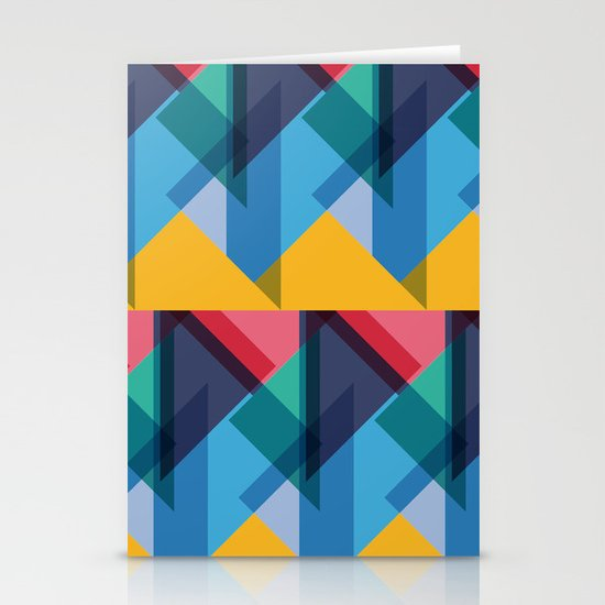 Crazy Abstract Stuff 2 Stationery Cards