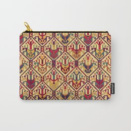 Kilim Fabric Carry-All Pouch