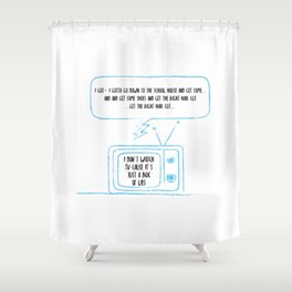 Indy kidz Shower Curtain