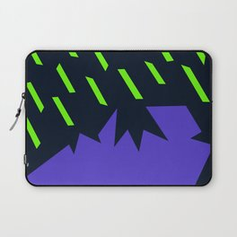 Acid rain on volcanic landscape Laptop Sleeve
