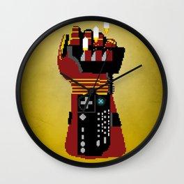 Power Glove Love: Iron Man Wall Clock