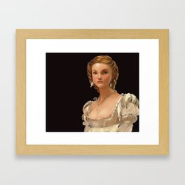 Lucretia Framed Art Print