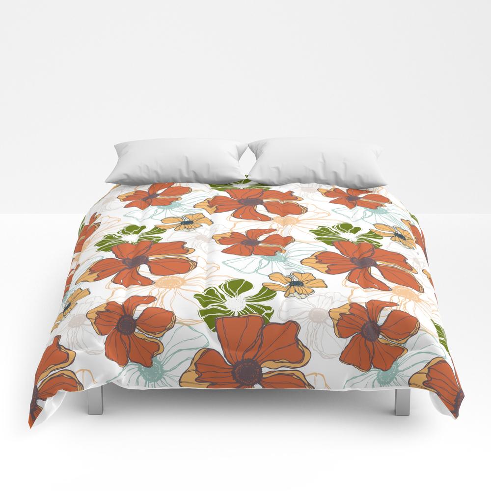 Poppy Bash 2 Comforter by Katayoondesign CMF7866351