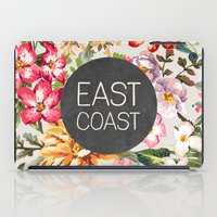 tupac iPad Cases featuring East Coast by Text Guy