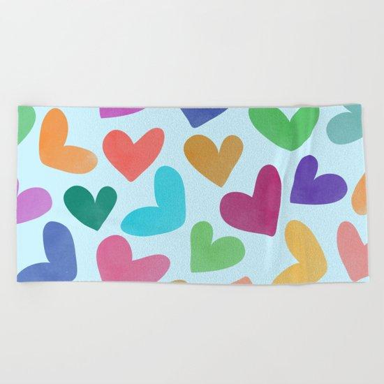 Lovely Pattern III Beach Towel