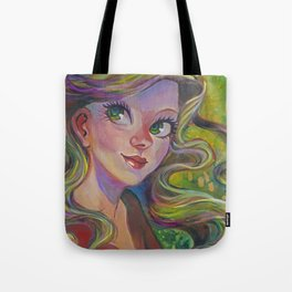 The Girl Who Dreamed Tote Bag