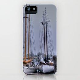 Schooners in the Cove iPhone Case