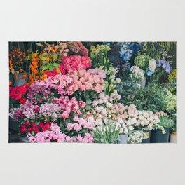 Maket of flowers Rug