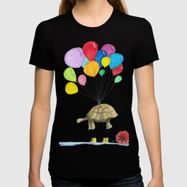 Mr Tortoise with Balloons T-shirt