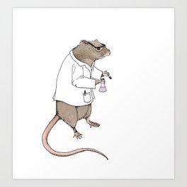 Lab Rat | Color Art Print
