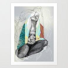 Prayer? Art Print