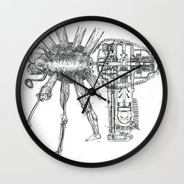 Techno Tarantula Wall Clock