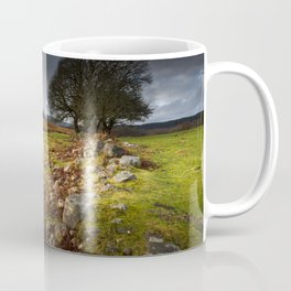 Approaching storm over Brecon, South Wales UK Coffee Mug