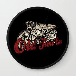 "Old Time Car ""Café Racer"" Wall Clock"