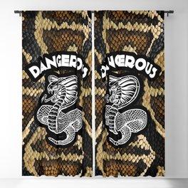 Dangerous   Cobra   Snake Blackout Curtain