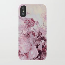 soft pink bouquet iPhone Case