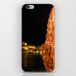 A light in the dark iPhone Skin