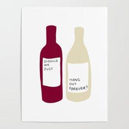 Love wine Poster