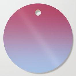 SPARKS OF TIME - Minimal Plain Soft Mood Color Blend Prints Cutting Board