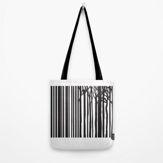 Treecode Tote Bag