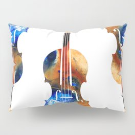 Violin Art By Sharon Cummings Pillow Sham