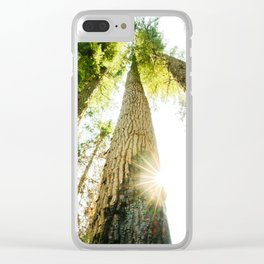 Regrowth Clear iPhone Case