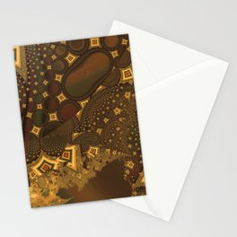 Abstract 0009 Stationery Cards