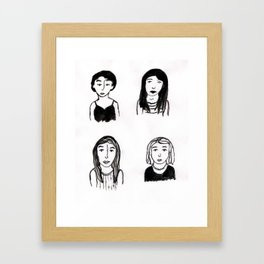 Marias Framed Art Print