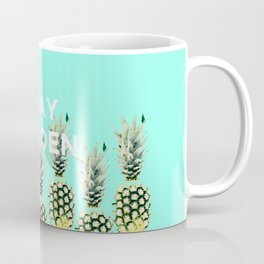 Pineapple Pop - Stay Golden Coffee Mug