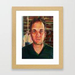 Mug Shot, A. Hummel Framed Art Print