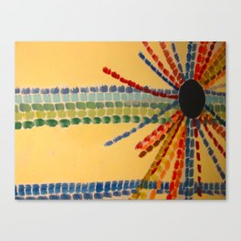 Indian Sun Streaked Canvas Print