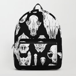 Skull Grid Backpack
