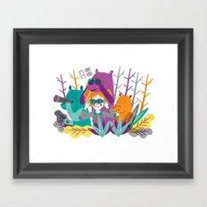 Spring is Coming! Framed Art Print
