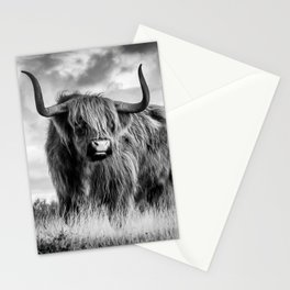 Highland Bull Stationery Cards