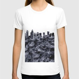 Charlotte Skyline North Carolina T-shirt