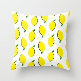 Lemon Squeezy 02 Throw Pillow