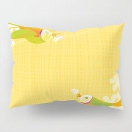 Spring Birds (Yellow) Pillow Sham