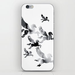 Facing Pegasus iPhone Skin