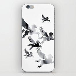 Facing Pegasus iPhone Skin