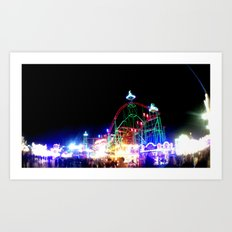 amusement III. Art Print