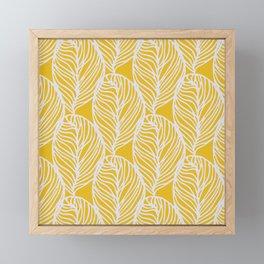 Petaluma, yellow Framed Mini Art Print