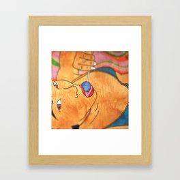 A girl named Jodi... Framed Art Print