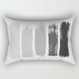 Black & White Stripes Rectangular Pillow