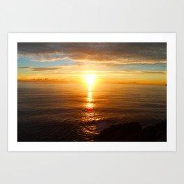 Sun Line Art Print