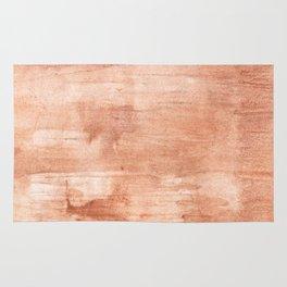 Burly wood hand-drawn aquarelle Rug