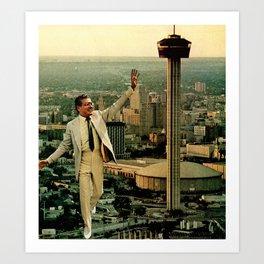 Big-city Man Art Print
