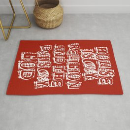 House Is My Religion Rug