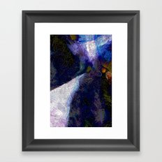 One of those Nights Framed Art Print