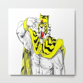 Tiger Mask II 1 Metal Print