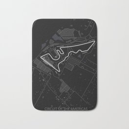 Circuit of the Americas Austin Texas Bath Mat